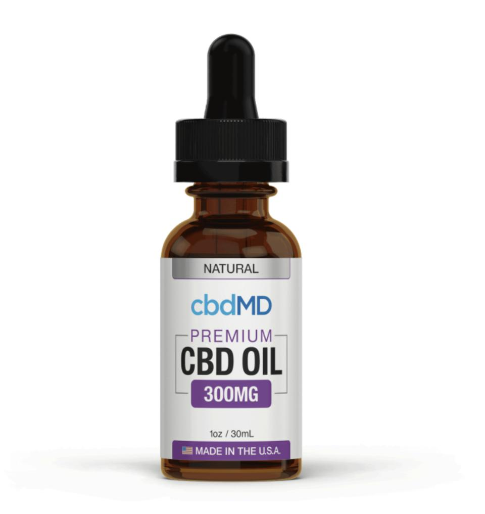 cbdMD CBD Bottle