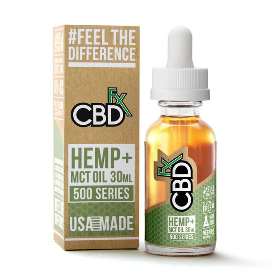 CBDfx CBD Bottle