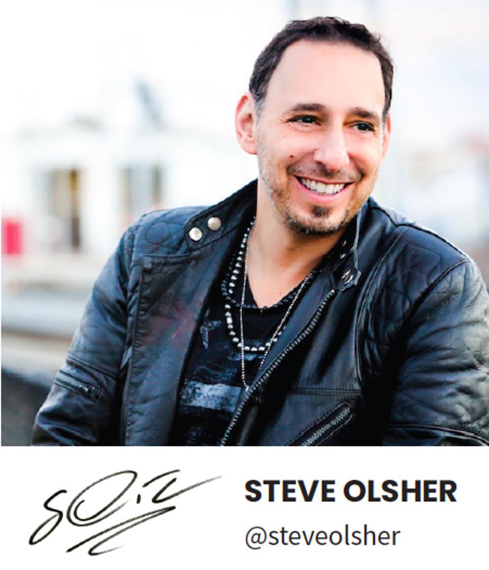 Steve Olsher, podcast veteran