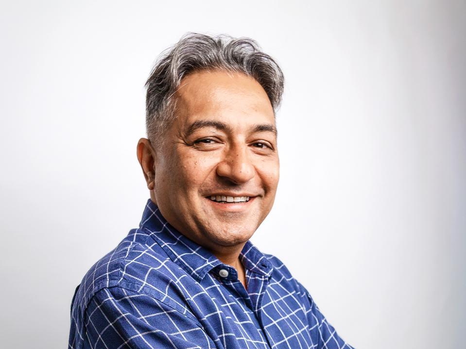 Headshot of Sunny Bhasin, founder of CYCLE
