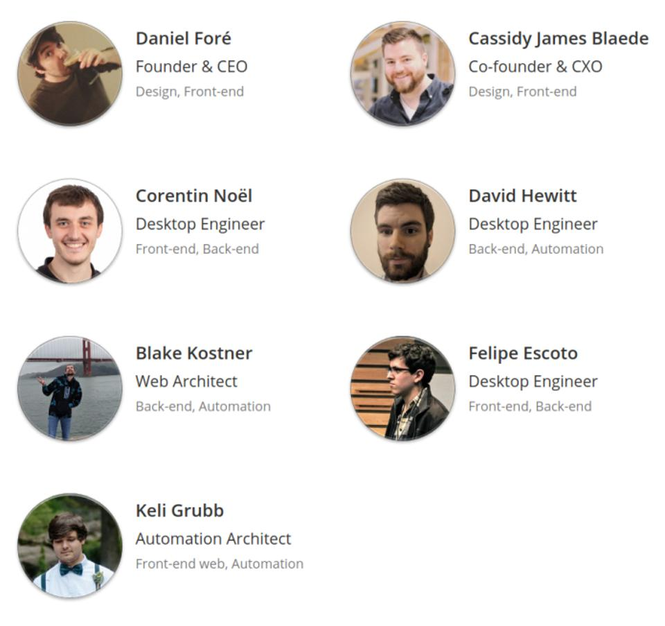 Equipe do AppCenter For Everyone