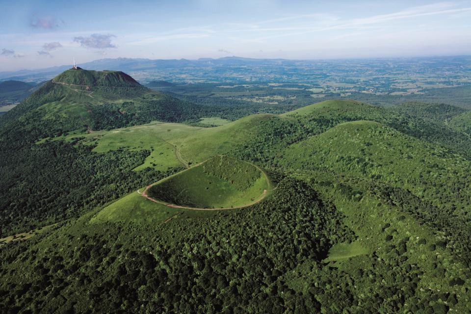 Puy de Dôme volcano, Auvergne