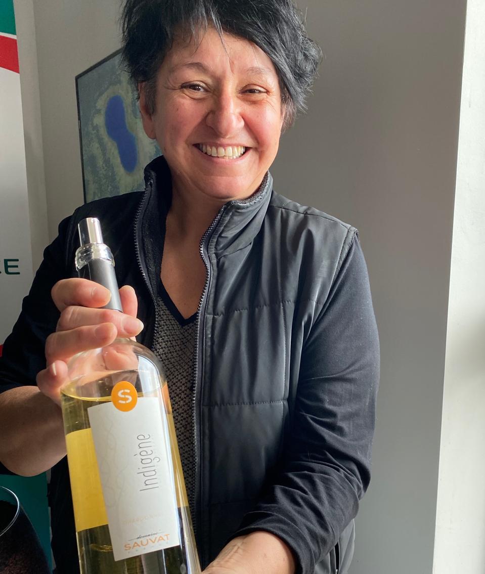 Winemaker Annie Sauvat