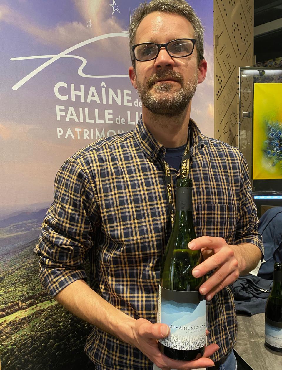 Winemaker Jean Baptiste Deroche