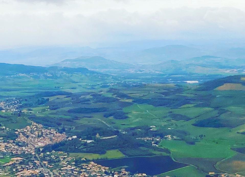 Auvergne landscape