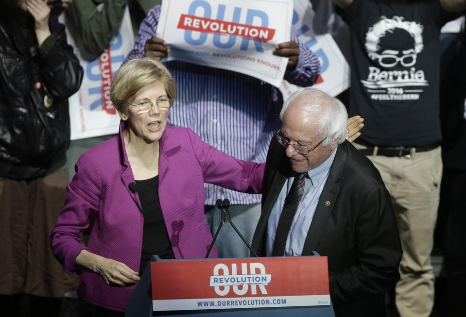 Sanders Warren Rally
