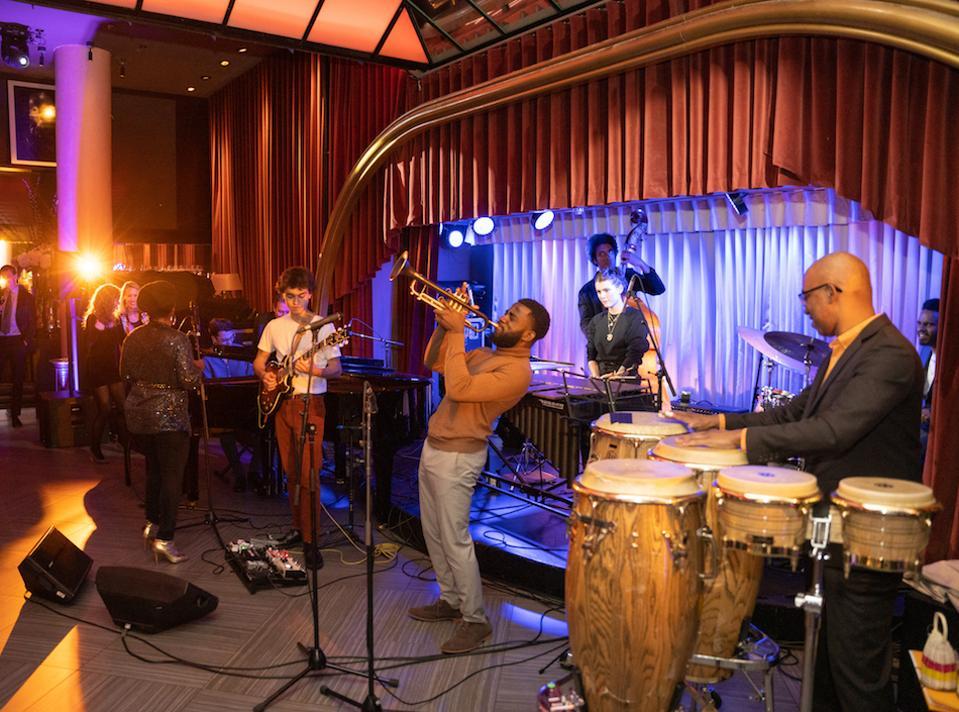 jazz musicians, emerging talent