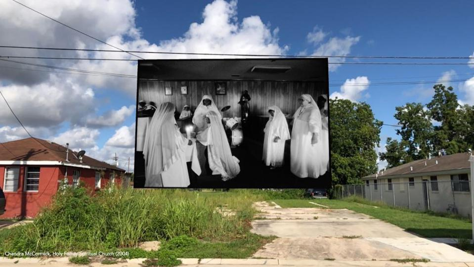 BATTLEGROUNDS is a citywide, site-specific Augmented Reality project in New Orleans, LA
