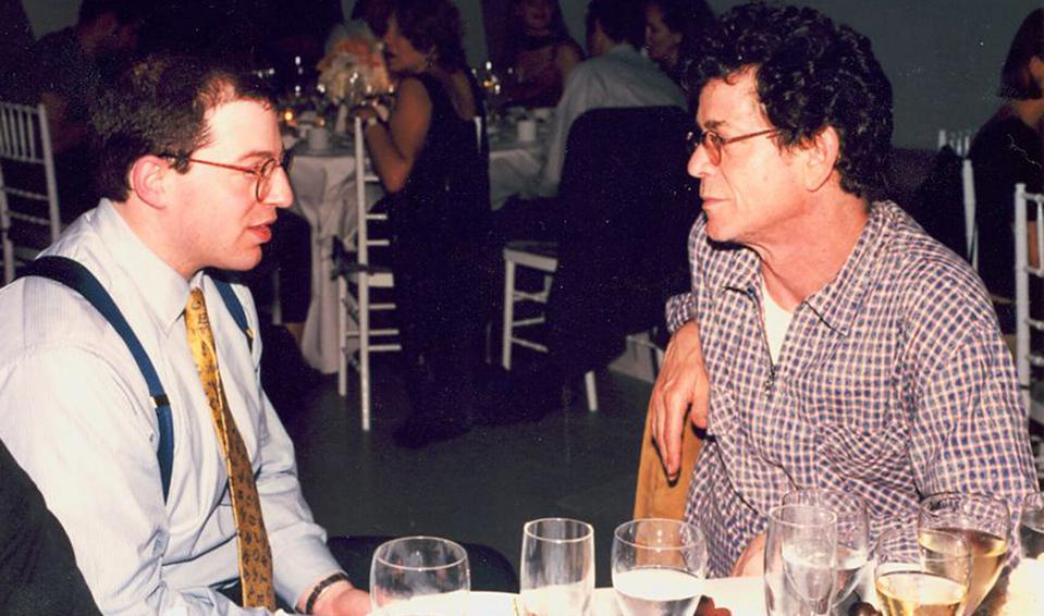 Ed Zimmerman and Lou Reed