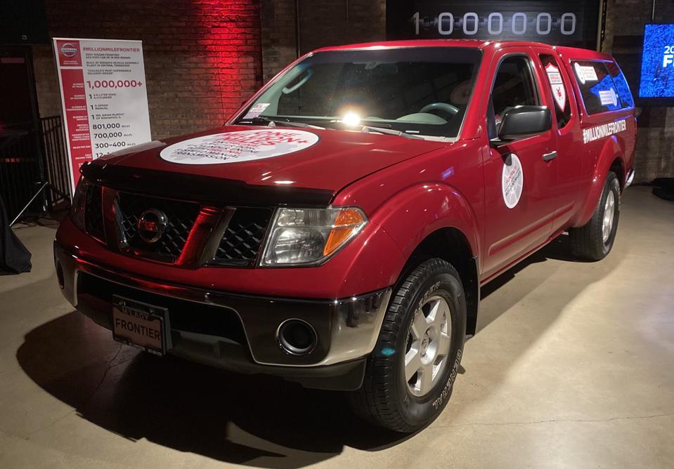 2007 Nissan Frontier with 1 Million Miles.