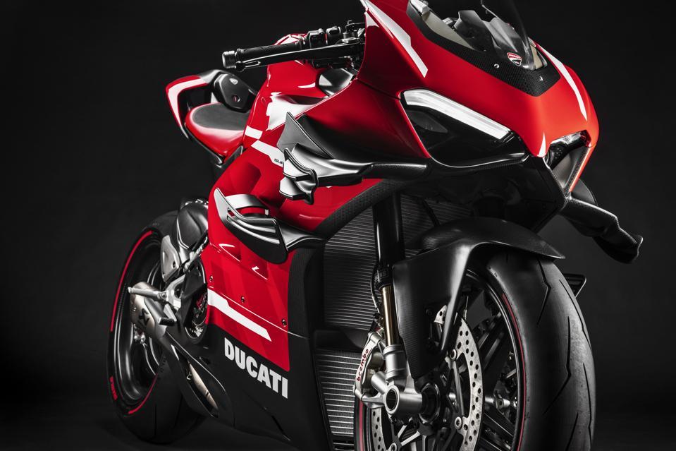 Ducati V4 Superleggera superbike motorcycle