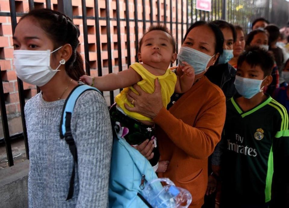 face mask virus kids