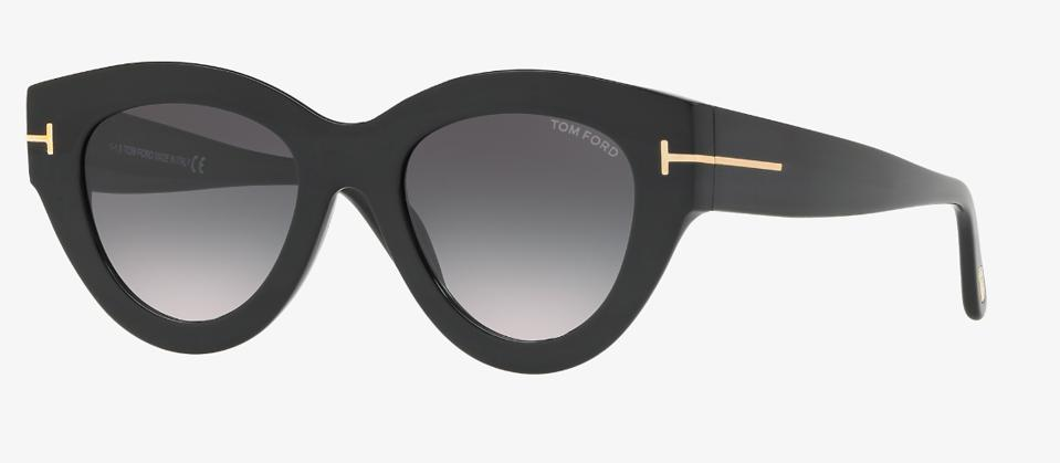 Black graphic cat's eye by Tom Ford