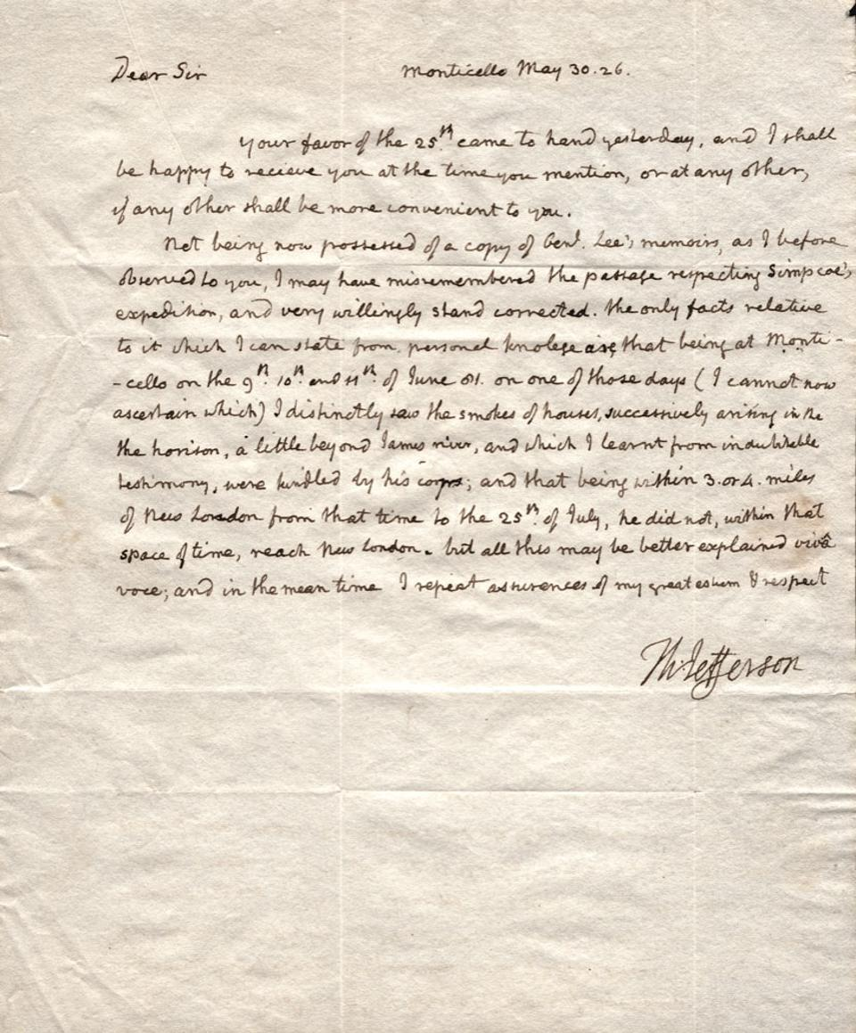 What This Letter Signed By Thomas Jefferson Tells Us About His Final Days And About Our Own Legacies