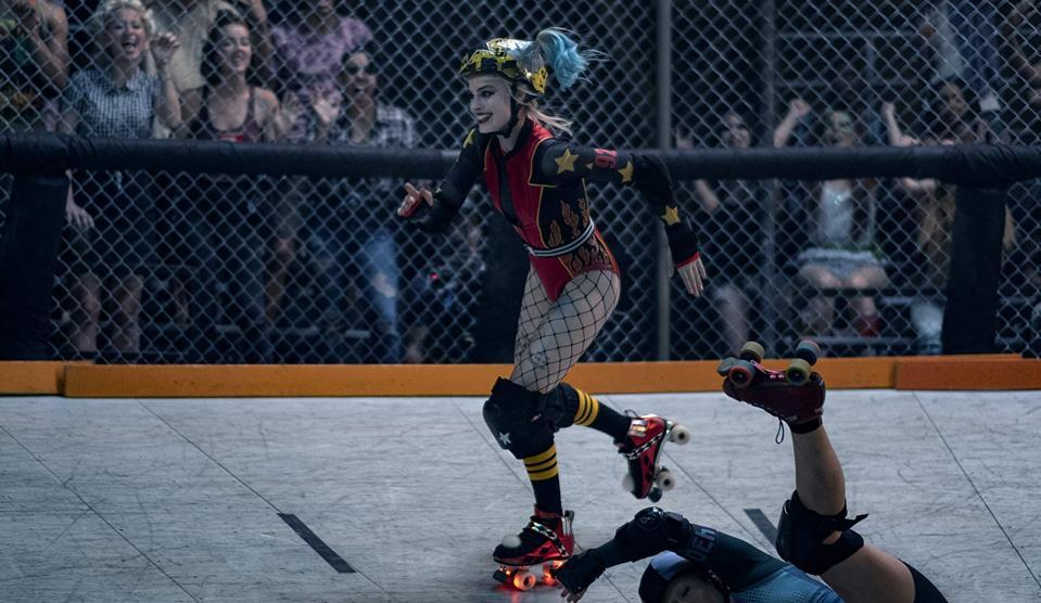 Harley Quinn Roller Derby Birds of Prey
