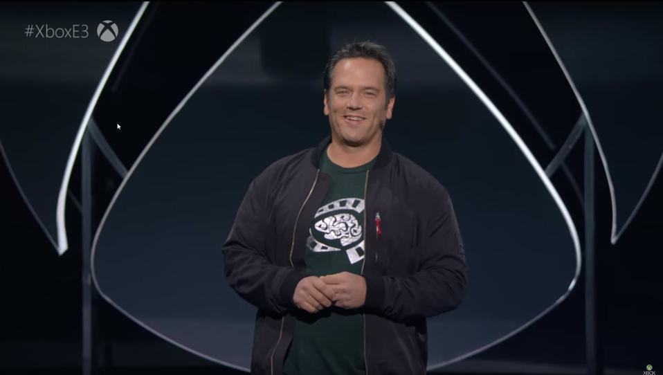 Phil Spencer at E3 2019
