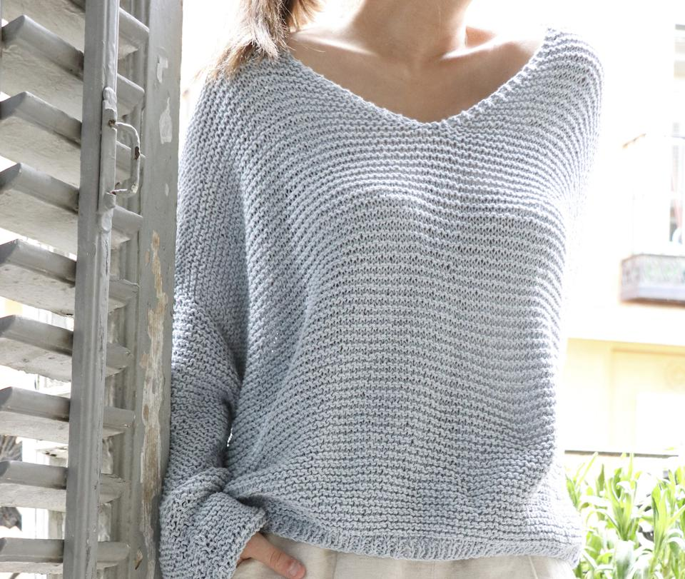 Pangolan Sweater Kit from We Are Knitters