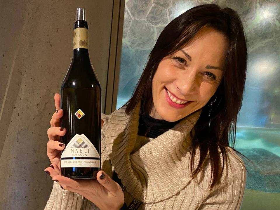 Elisa Dilavanzo of Maeli wines