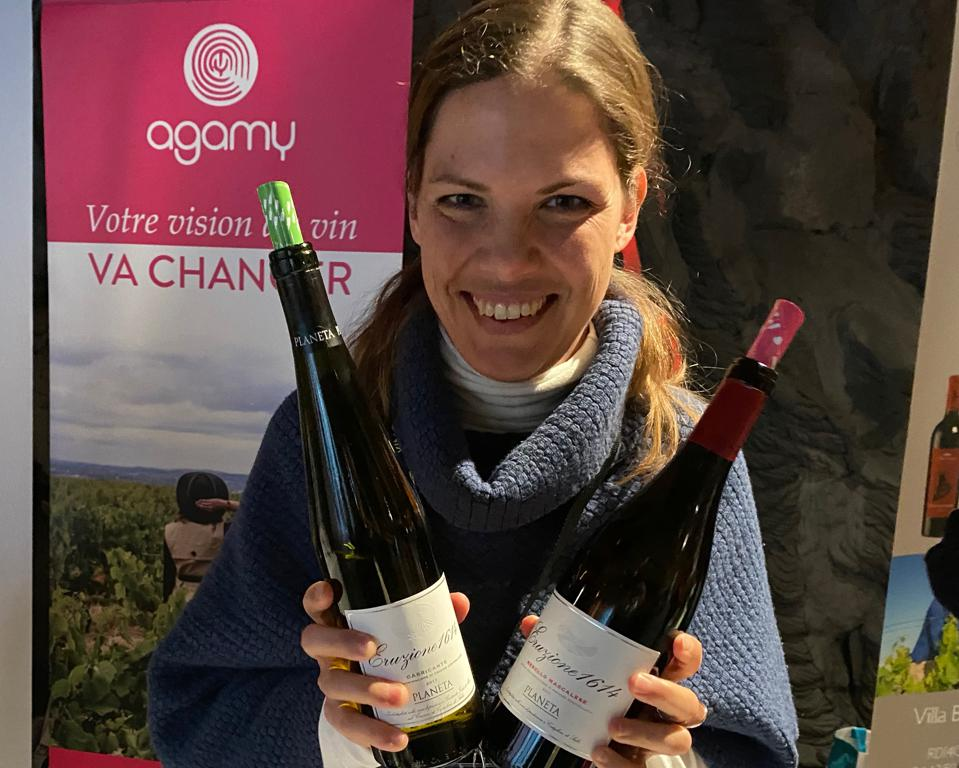 Patricia Tóth of Planeta Wines, Sicily, Italy