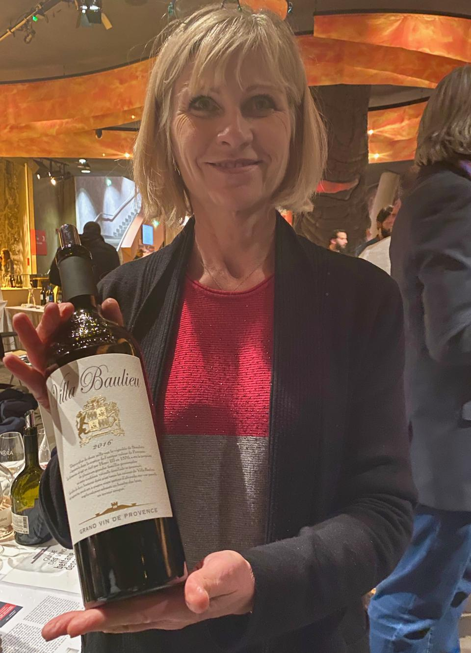 Nadine Cattanea of Villa Baulieu wines from France