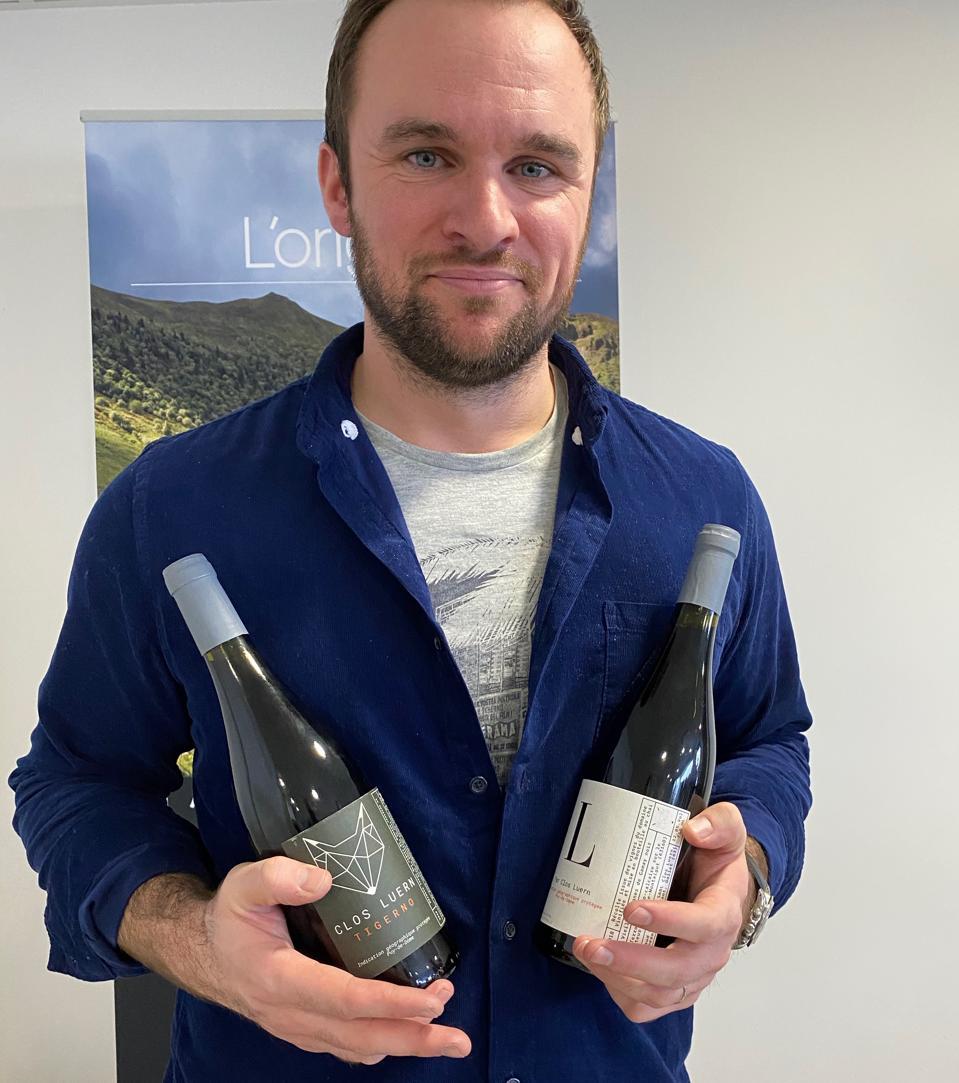 Winemaker Arnaud Dupouyet of Clos Luern wines