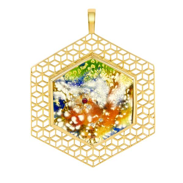 Geometric Jewelry: New York-Based ReRe Corcoran's Luxurious Designs Embody Artisanal Mastery And Kinetic Chic