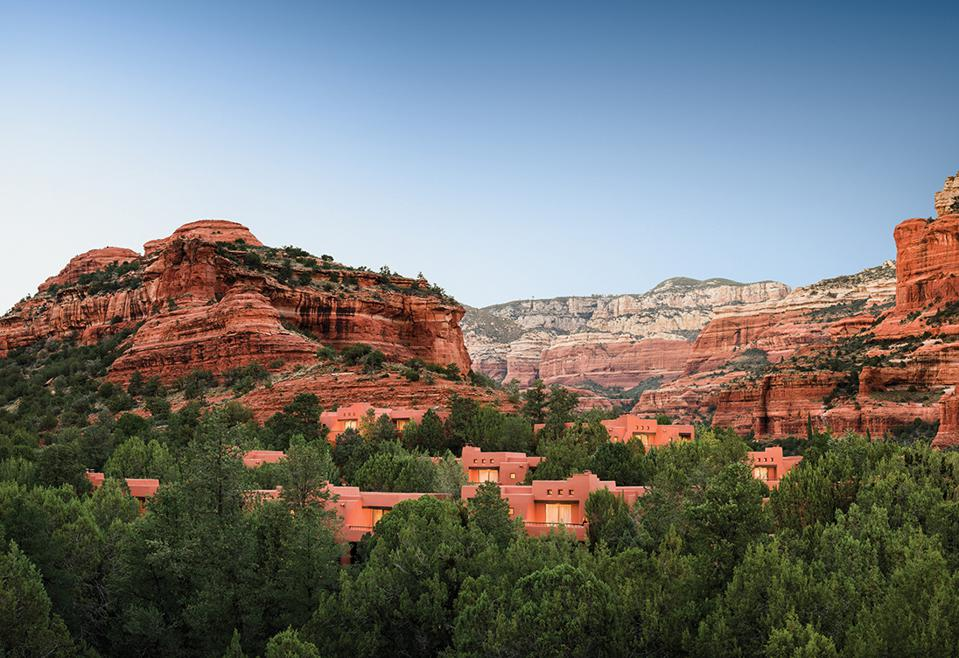 Sedona's Enchantment Resort Dazzles With Red Rocks And More