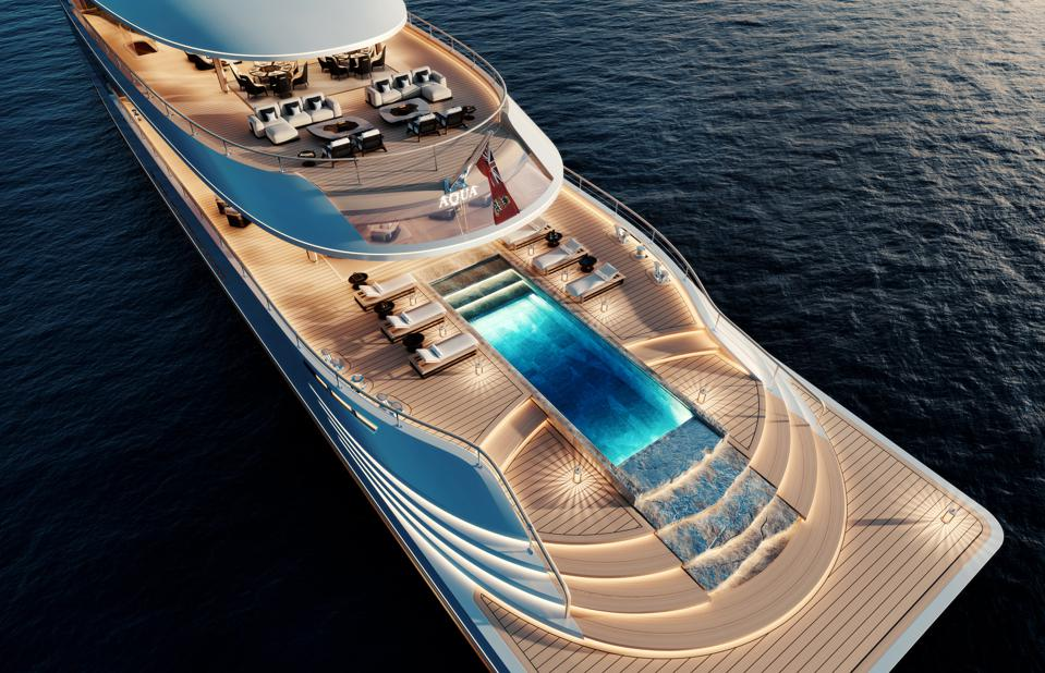 Evereything about the 376-foot-long yacht that Bill Gates is reportedly pledging to build is out of this world.