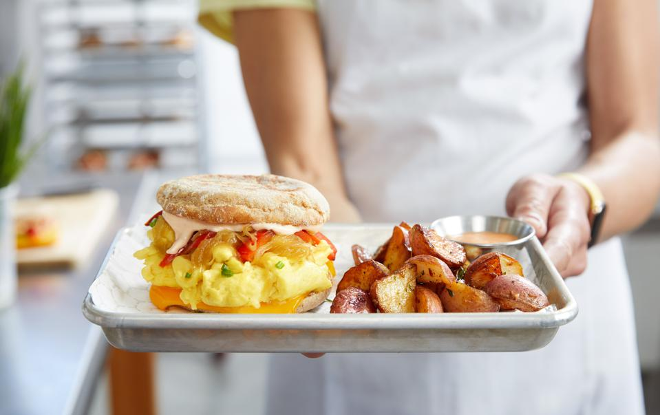 JUST Egg is a plant-based egg replacement in breakfast dishes and baked goods.