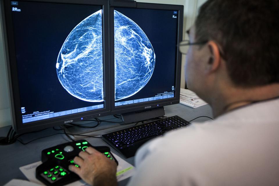 Mammography examination