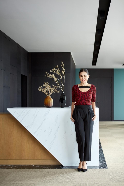 Award-winning interior designer Assel Baimakhan