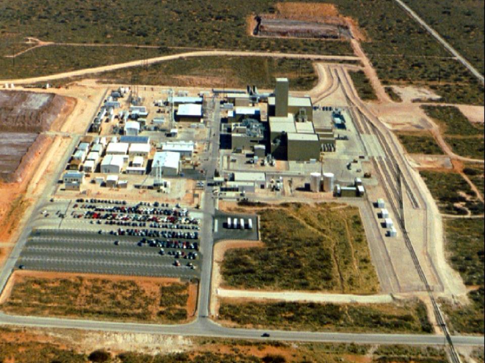 WIPP PLan View