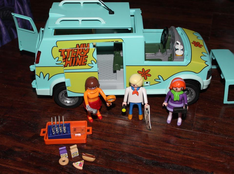 scooby-doo mystery machine playmobil