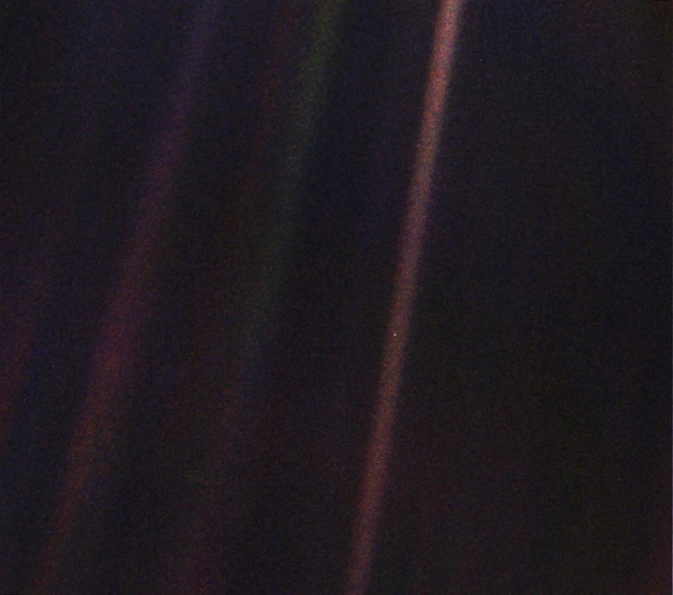 Voyager 1's Iconic 'Pale Blue Dot' Photo Is 30 Years Old. So NASA Made A New One