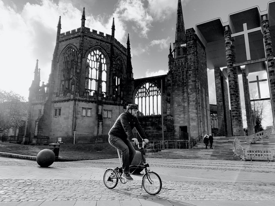 Bicycle Mayor of Coventry.