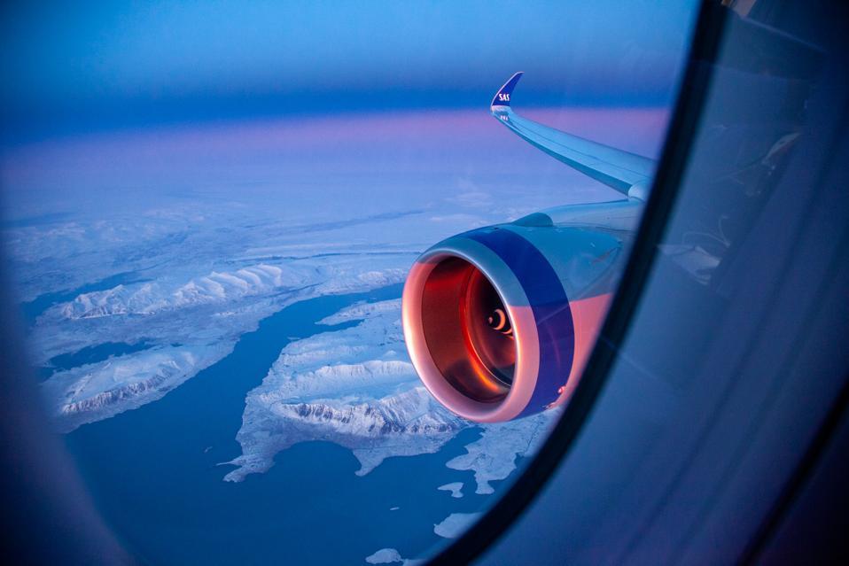 Iceland below