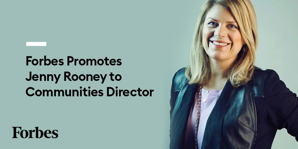Forbes promotes Jenny Rooney to Communities Director