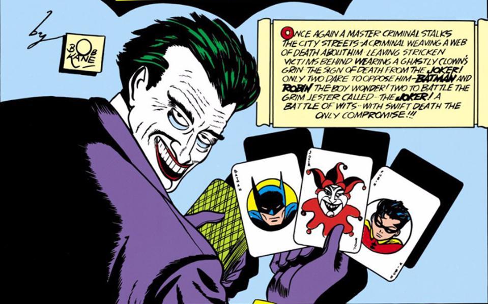 Joker Batman Bob Kane Bill Finger Jerry Robinson Oscars 2020