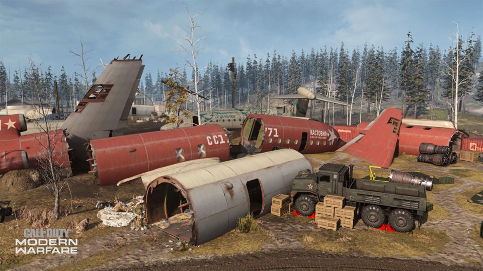 Zhokov Boneyard Modern Warfare Map