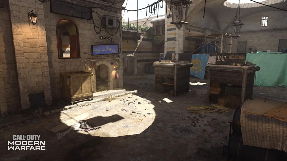 Bazaar Modern Warfare Map
