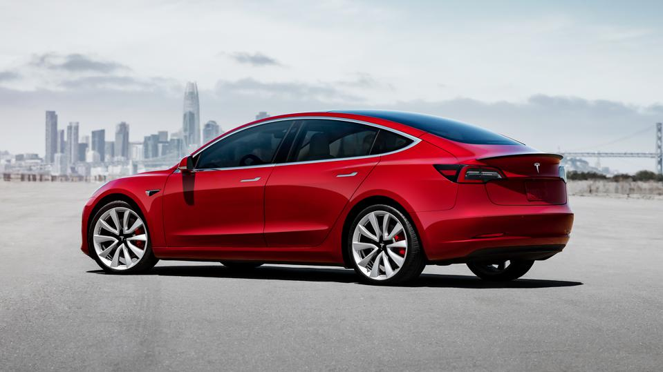 The Tesla Model 3 currently outsells all other electric cars combined.