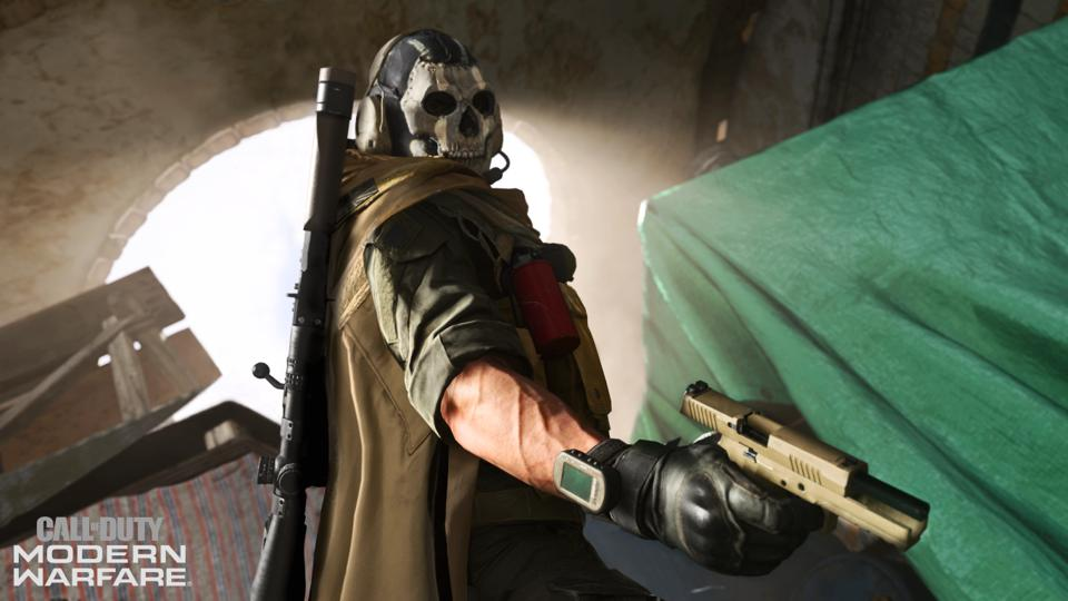 See Ghost In Action In The New Call Of Duty Modern Warfare