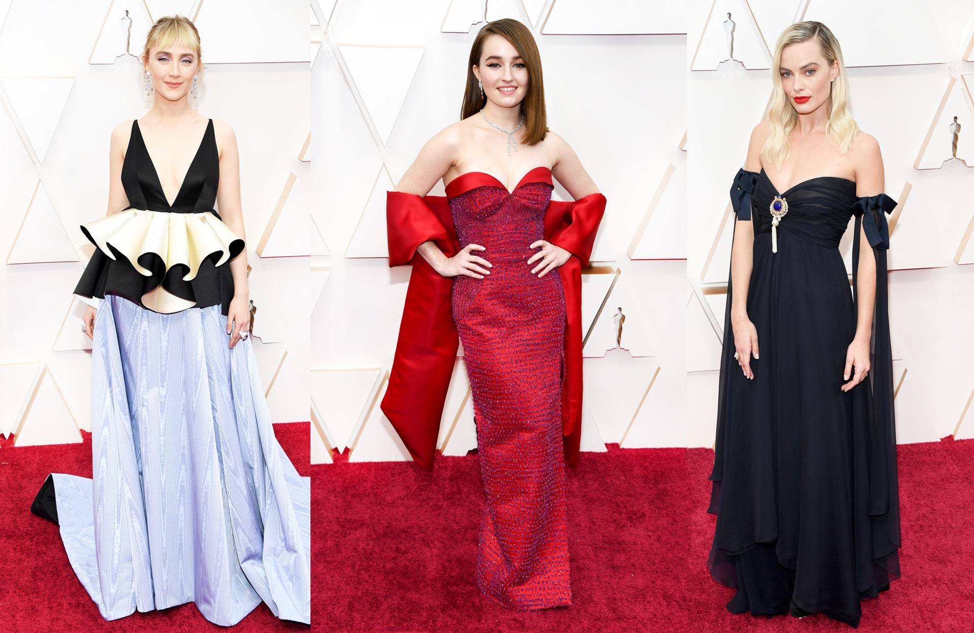 Sustainable Looks Red Carpet Oscars 2020