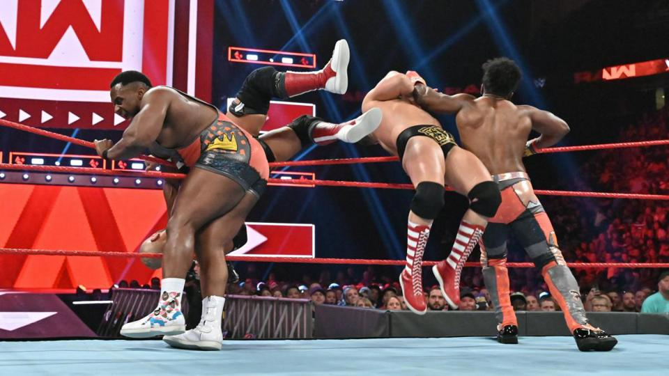 WWE Raw: The Revival vs. The New Day