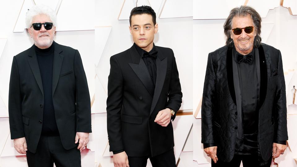 Men in Black Oscars 2020