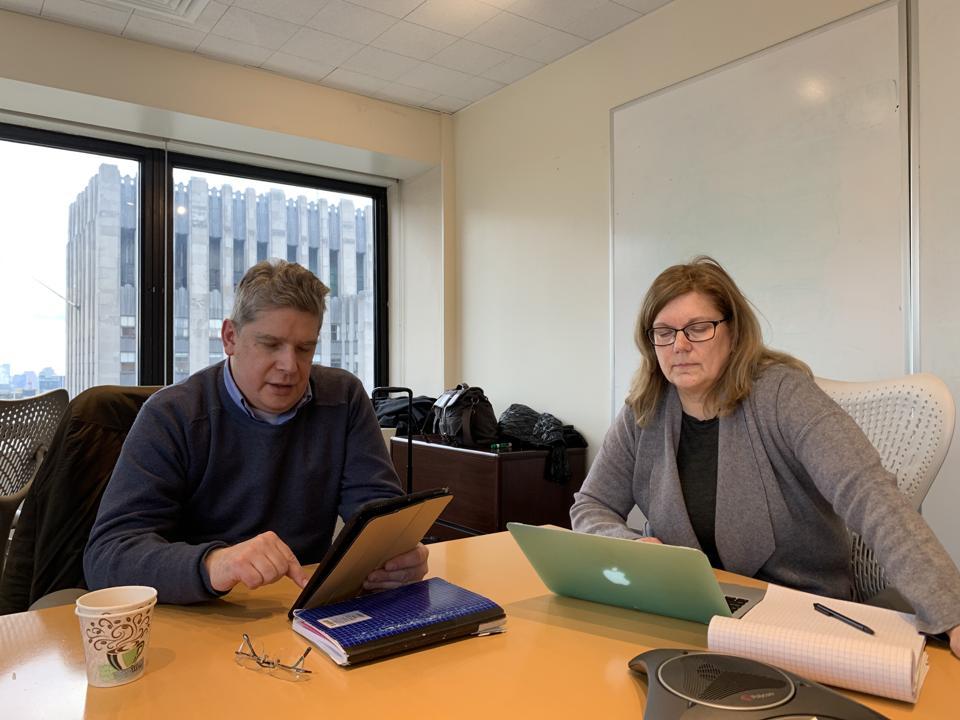 Edward Zyszkowski and Lori Fena of Personal Digital Spaces