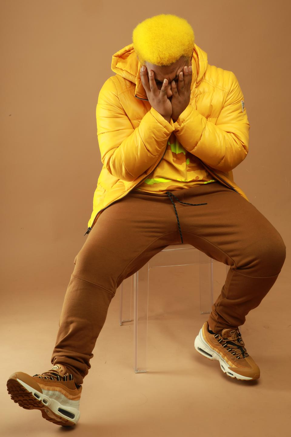 YelloPain in a recent photo shoot.