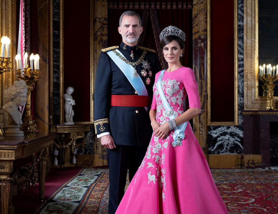 The Fashionable King and Queen of Spain