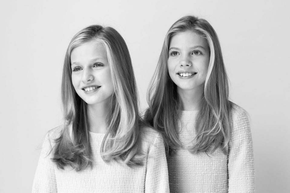 The beautiful princesses of Spain