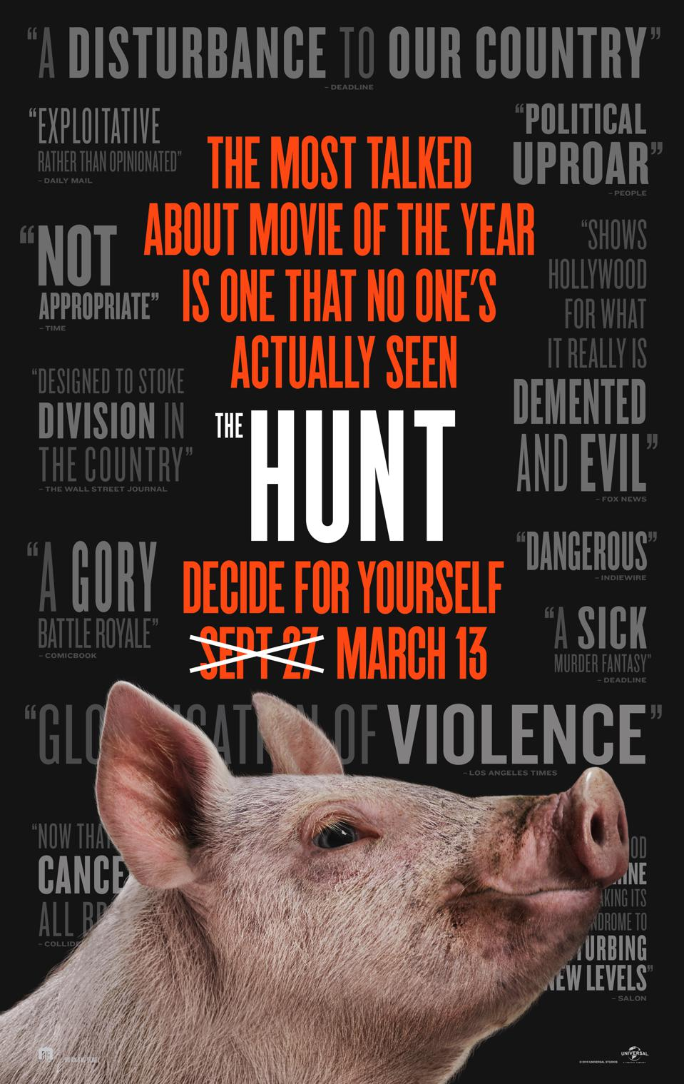 'The Hunt' poster